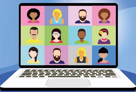 Online bijeenkomst – hoe werkt dat?